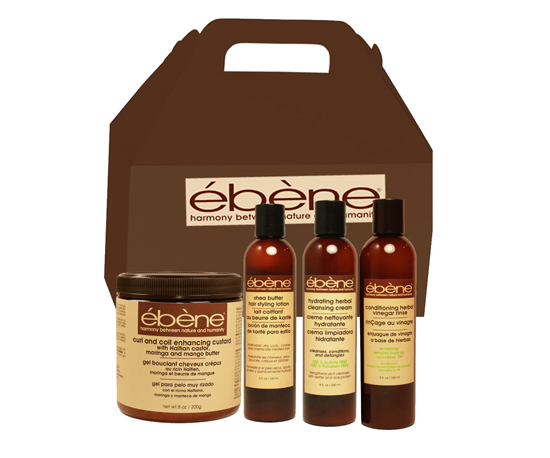 Type 4C hair Wash and Go Set